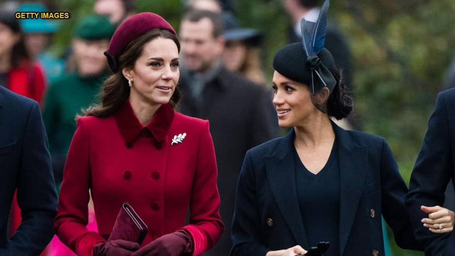 Royal family releases amicable media discipline in a arise of Meghan Markle, Kate Middleton online abuse