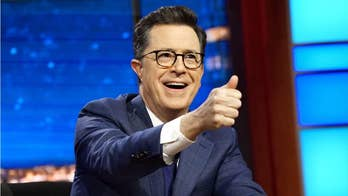 Stephen Colbert mocks Trump's CPAC speech: He was 'dry-humping old glory'