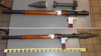 TSA stops man traveling with 'military rocket grenade launcher' in bag