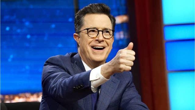 Stephen Colbert mocks Trump's CPAC speech: He was 'dry-humping old glory'