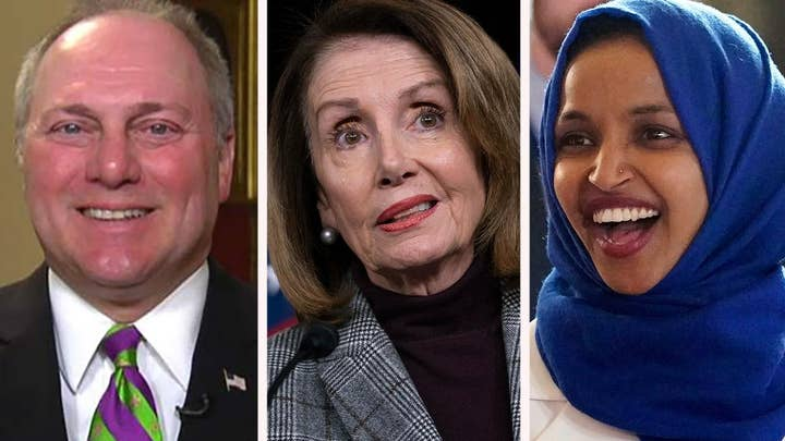 Rep. Steve Scalise: Nancy Pelosi has to remove Rep. Ilhan Omar from the Foreign Affairs Committee