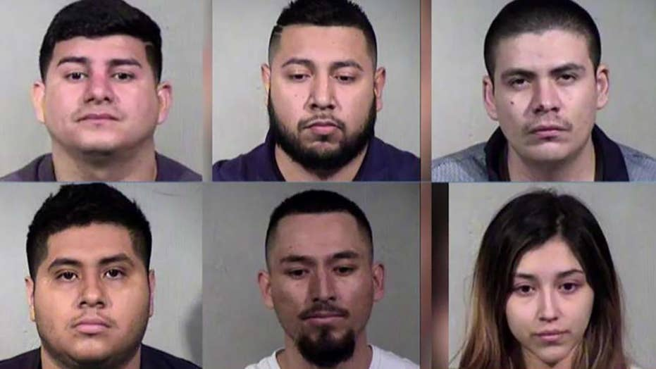 MS-13 gang member, 5 others arrested in Arizona drug bust