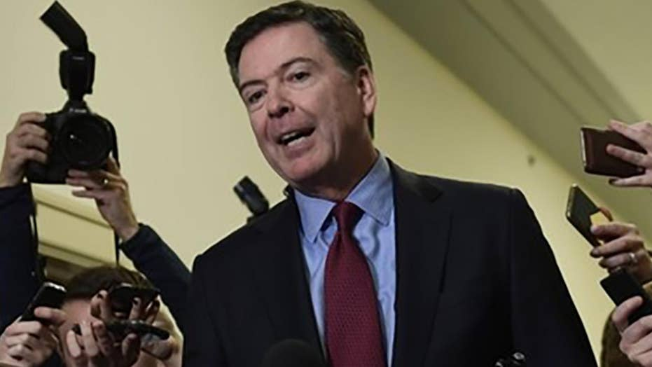 Comey urges fully transparency in the Mueller investigation