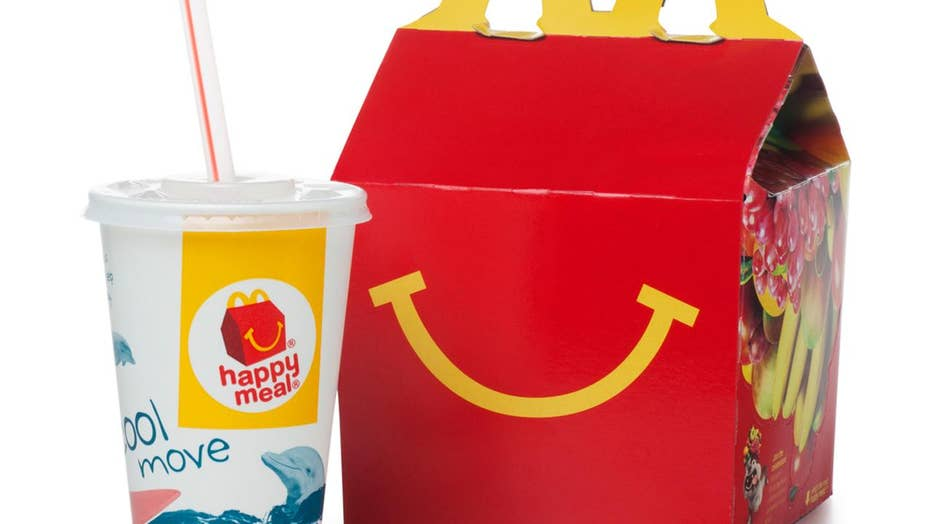 Dad outraged after son finds razor blade in his McDonald's Happy Meal