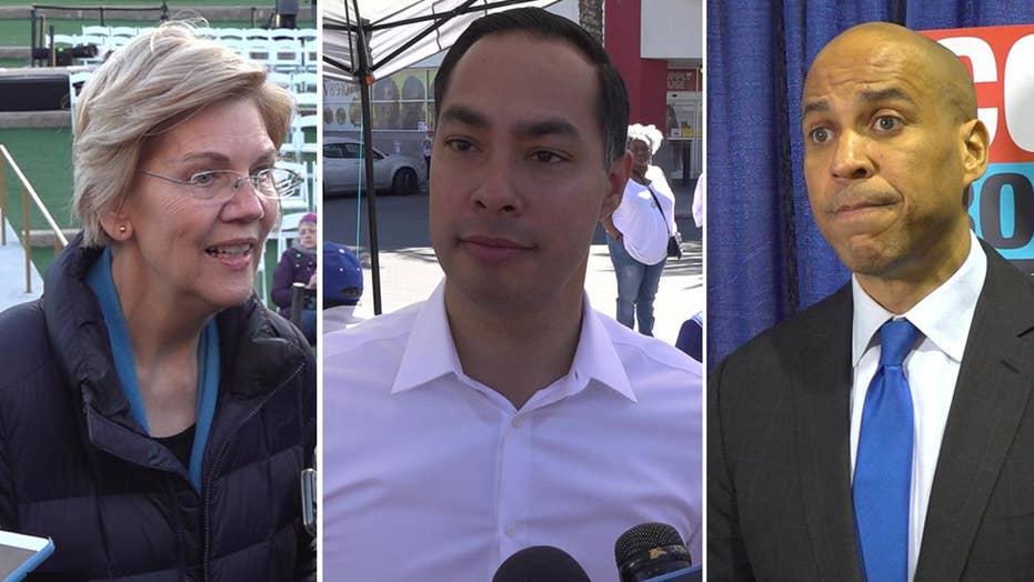 Democrat presidential hopefuls push for $15 minimum wage