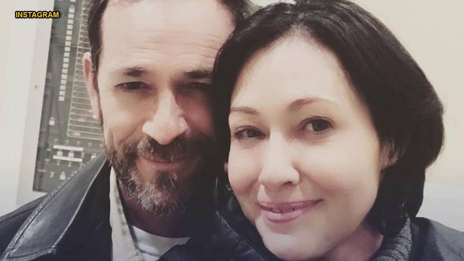 Shannen Doherty 'struggling' with loss of Luke Perry, 'Beverly Hills, 90210' co-star