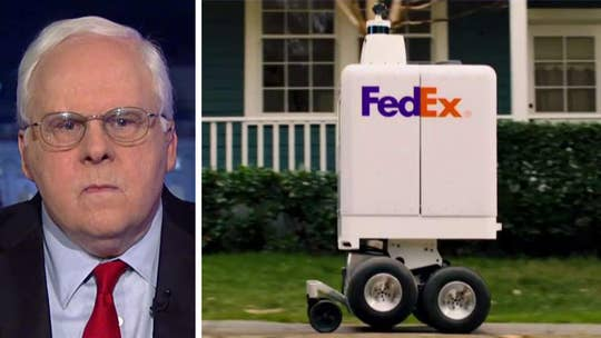 FedEx to test driverless 'sameday bot' deliveries