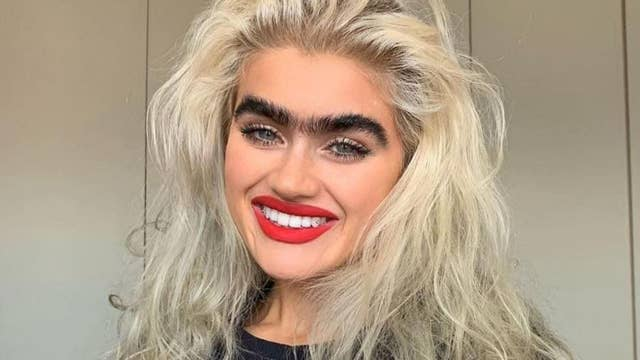 Model Sophia Hadjipanteli is challenging conventional beauty standards with her unibrow