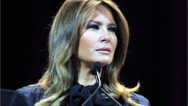 Melania Trump slams media's coverage of 'Be Best' speaking tour