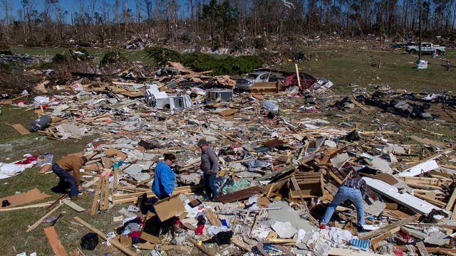 Trump approves disaster declaration for Alabama after deadly storms