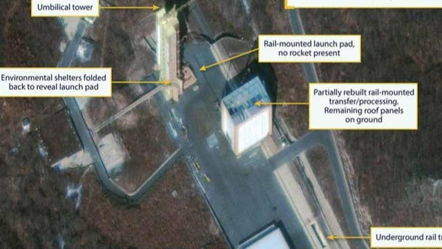 Reports: North Korea rebuilding rocket test site