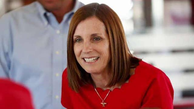 Sen McSally says she was raped in the Air Force by a superior officer