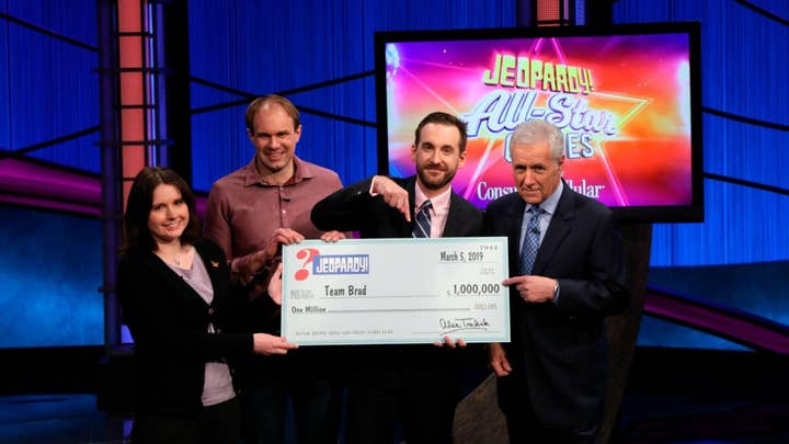 'Jeopardy!' crowns first-ever team champion with $1 million grand prize