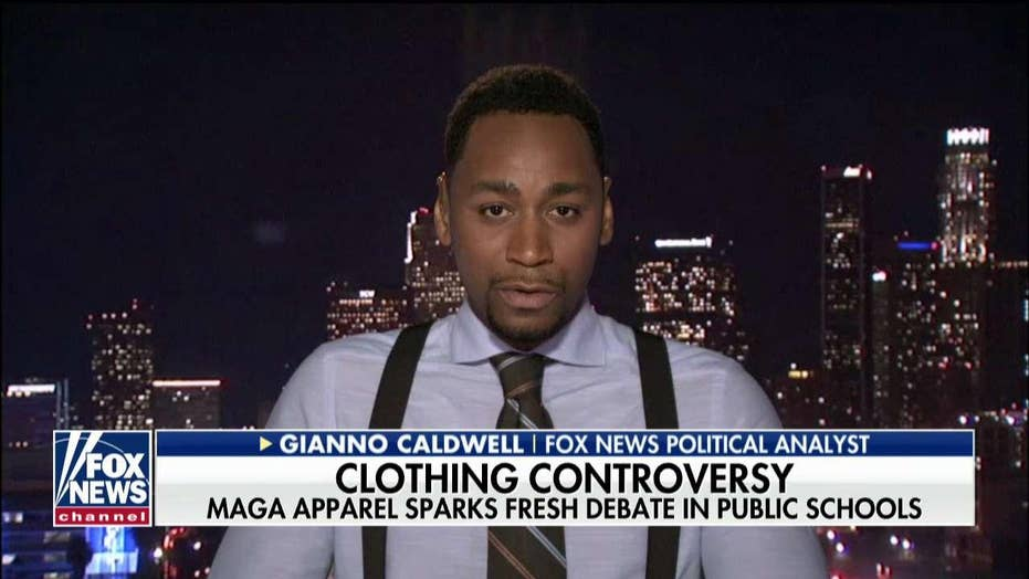 Caldwell on MAGA Apparel Controversies: The Left Preaches Tolerance But Doesn't Practice It