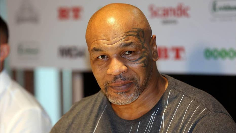 Video of Mike Tyson, 52, throwing punches goes viral