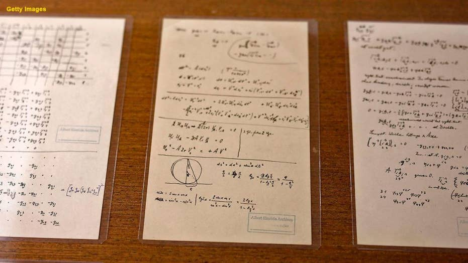 Hebrew University solves Einstein 'puzzle' after missing page is found