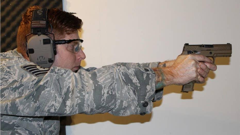 Air Force deploys new handgun as it modernizes weapons