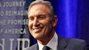 Howard Schultz: Dems will play 'spoiler' if they pick a nominee with socialist values