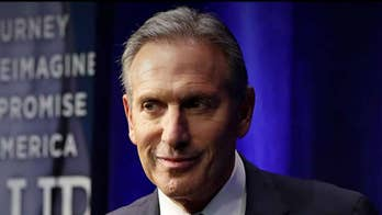 Howard Schultz apologizes after claiming he spent more time than 2020 candidates with military