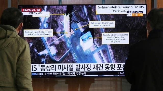 Satellite images indicate North Korea is rebuilding missile site