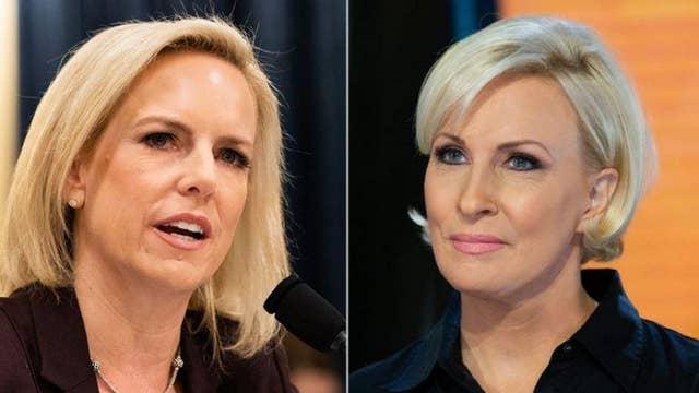 Morning Joe's Mika Brzezinski dismisses Homeland Security Secretary Kirstjen Nielsen after testimony