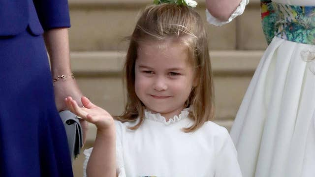 Prince William says putting his daughter Charlotte's hair up in a ponytail is a 'nightmare'