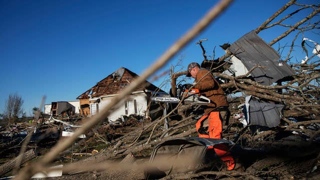 Alabama braces for more severe weather, just days after tornado outbreak killed 23 people