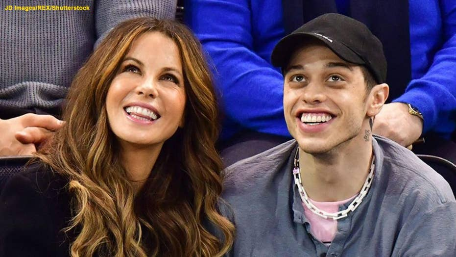 Kate Beckinsale reacts to funny meme about her Pete Davidson make-out session