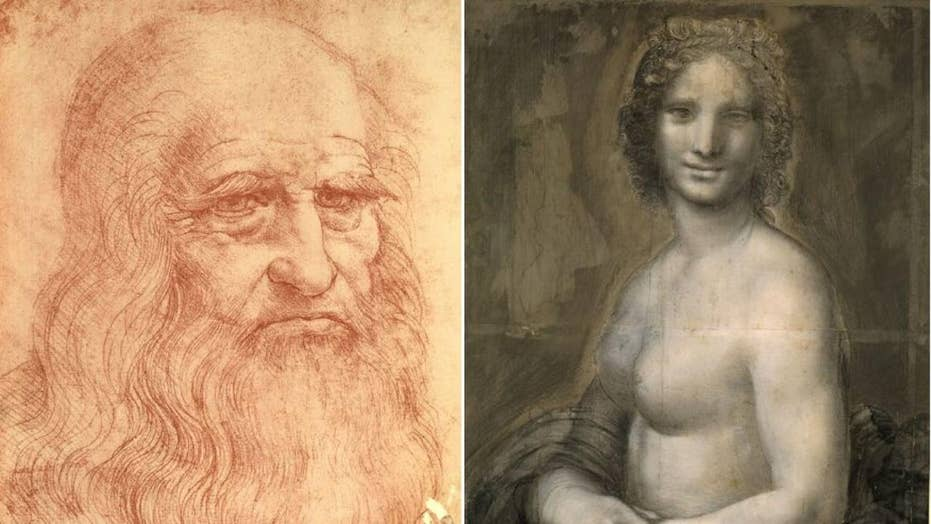 Mysterious 'Nude Mona Lisa' possibly drawn by da Vinci