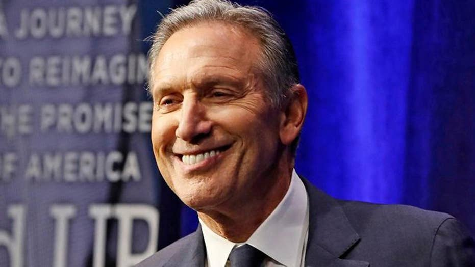 Howard Schultz eyes bringing both Republicans and Democrats to the negotiating table