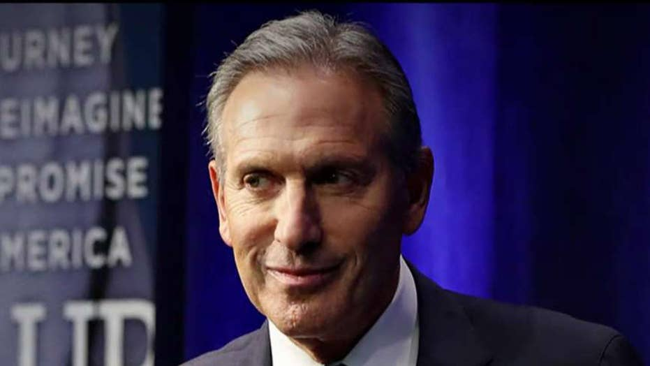 Howard Schultz pushes back against 'spoiler' label