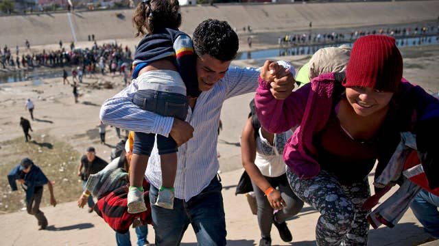 1,700 percent increase in family unit apprehensions reported at the southern border