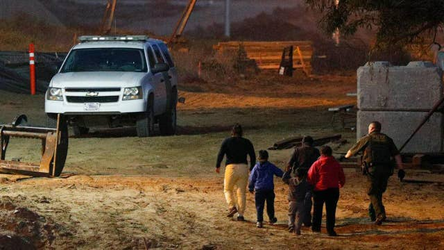 Border Patrol sees surge in migrants attempting to cross into US