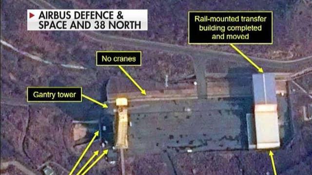 Satellite images show activity at North Korean missile test site