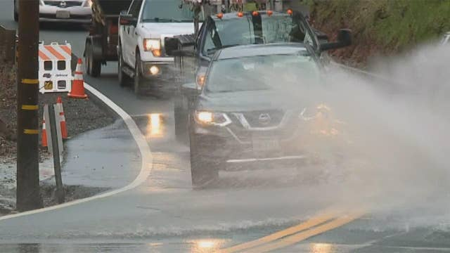 Late winter storm creates flash flood conditions in Northern California