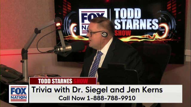 Todd's Trivia Time w/Dr. Marc Siegel and Jen Kerns