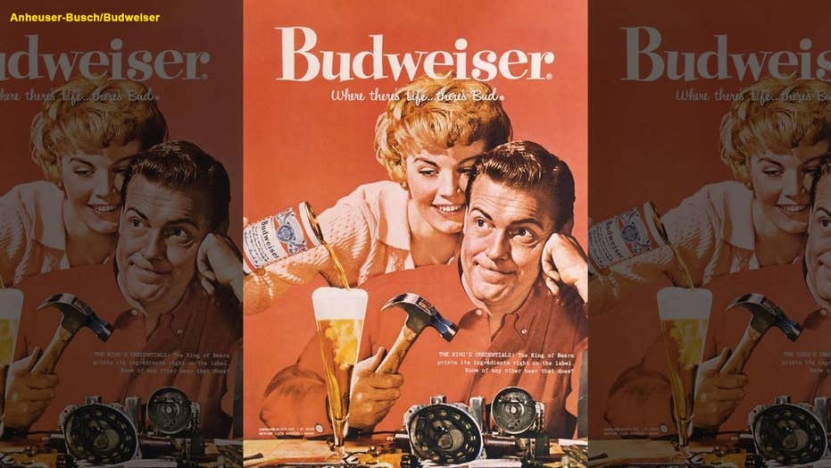 Budweiser modifies ads from the '50s and '60s to remove any sexist messaging