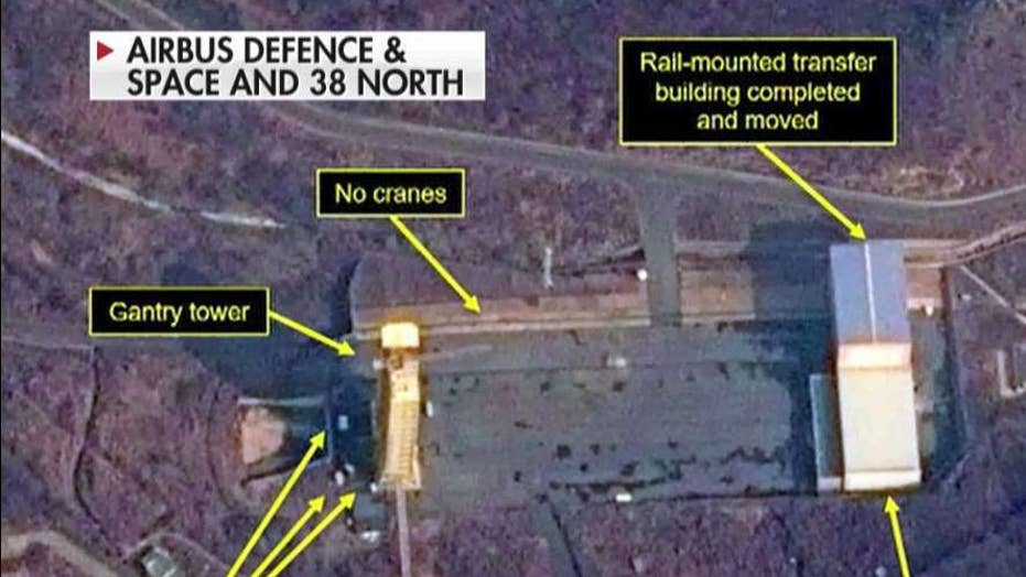 Satellite images show activity at North Korean missile test site