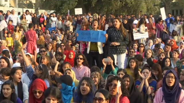International Women's Day marked by celebrations, protests and lawsuits thumbnail