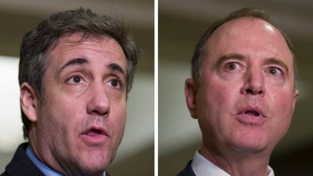 Is Michael Cohen's meeting with Adam Schiff a cause for concern?