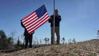 Veteran travels to Alabama to replace American flags after deadly tornadoes
