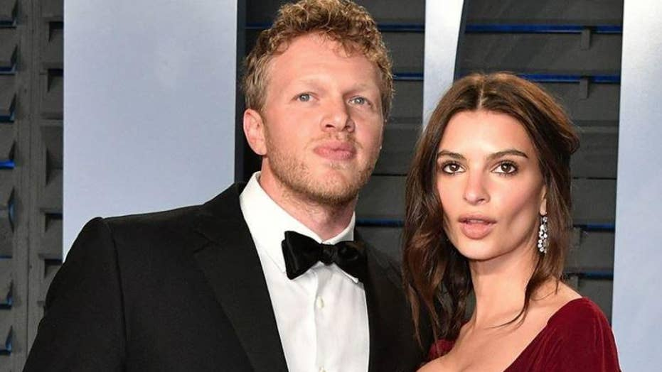 Emily Ratajkowski jokes spouse Sebastian Bear-McClard isn't