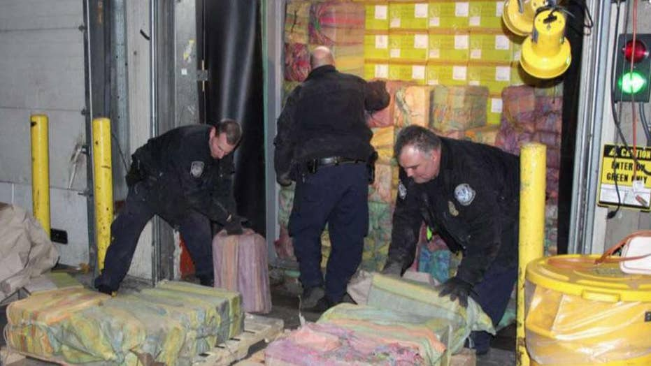Over 3K pounds of cocaine intercepted at New York port