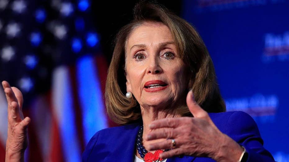 Nancy Pelosi pushes back on Democrats' push to impeach Trump