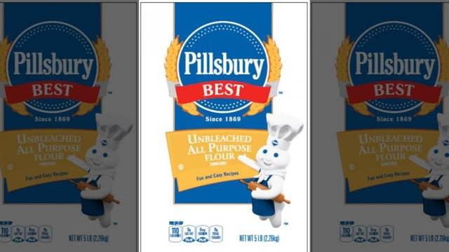 Pillsbury flour recalled over possible salmonella contamination