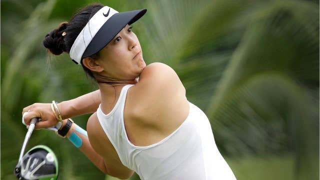 Golfer Michelle Wie announces engagement to son of NBA legend
