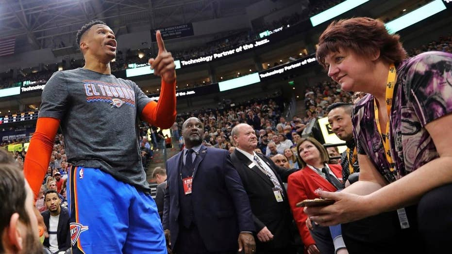 NBA's Russell Westbrook makes profanity-laced threat to couple during game