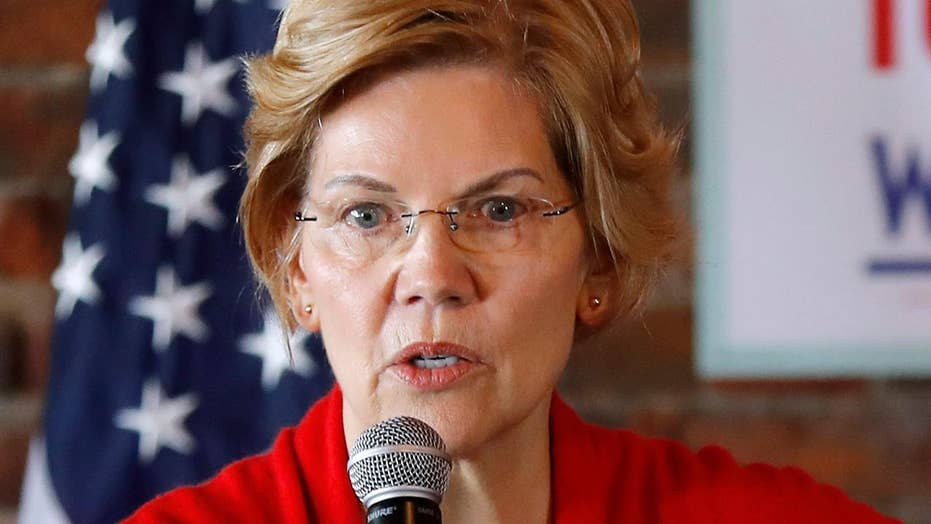 Facebook restores Warren's ads criticizing the platform after they were removed from the site