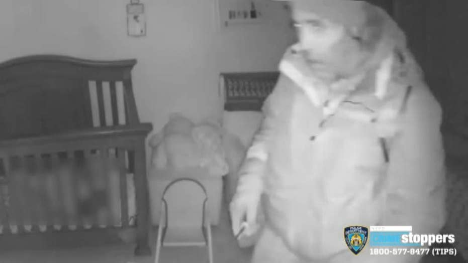 Scary video captures home invader enter through sleeping baby's window