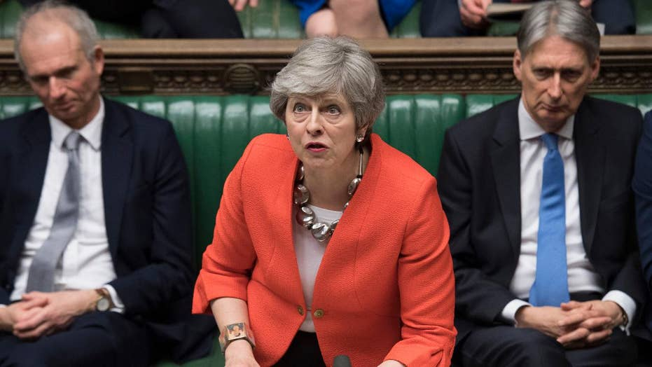 British lawmakers reject Prime Minister May's Brexit deal